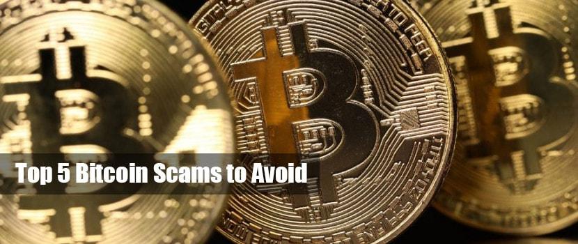 bitcoin top 5 scams