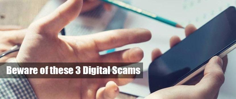 digital scams