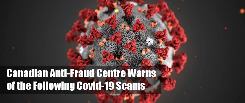 COVID 19 fraud