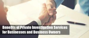 private investigator corporate